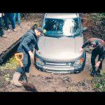 Девушка учится ездить! Поспорили УАЗ против Land Rover Discovery на бездорожье
