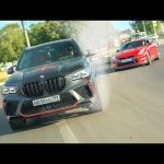 МОСКОВСКИЕ ПОНТЫ BMW X5M 800 лс против GTR и SKODA OCTAVIA RS 500 HP