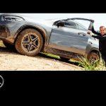 Der neue GLA: Matthias Malmedie testet den SUV auf der Offroad-Strecke.