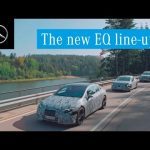 The all new EQS, EQE and EQS SUV