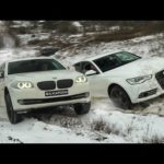 Что может BMW 5 против AUDI A6 вне дорог! Ошиблись дорогой