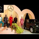 Mercedes-Benz Presents Adut Akech's Supermodel Fashion Statement