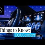 3 Things about the New EQA | Comfort