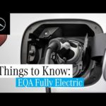 3 Things about the New EQA | Navigation, Battery and Mercedes me Charge