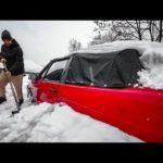 Нашли редкий кабриолет под снегом