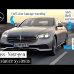 Safety & Assistance Systems in the New E-Class