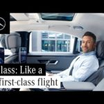 The Rear Seat Experience of the New S-Class