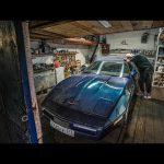 Тачки в деревенских гаражах